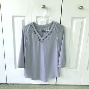 The Limited Periwinkle Blouse